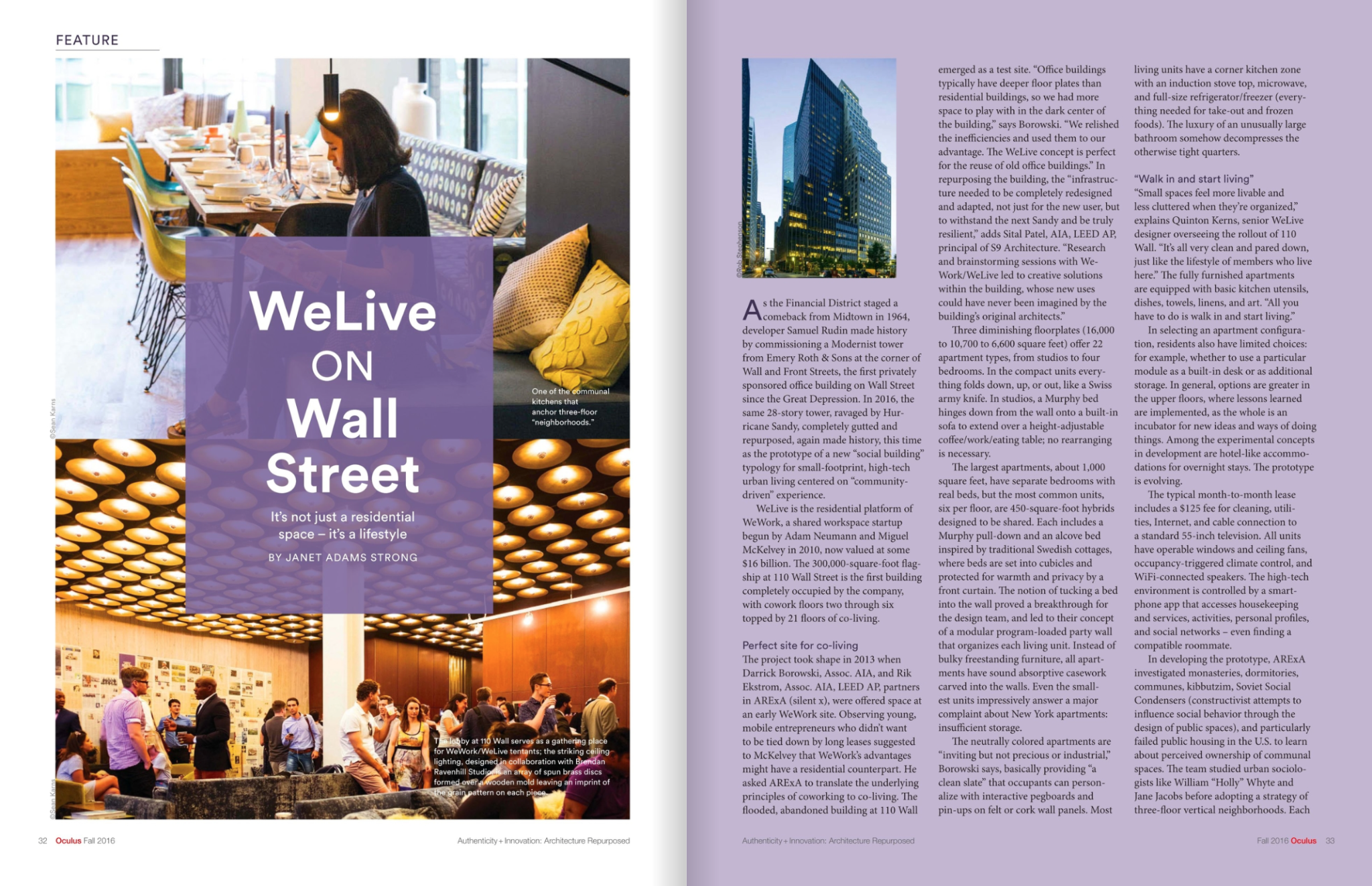 Oculus Magazine speaks with ARE×A on the design process behind WeLive